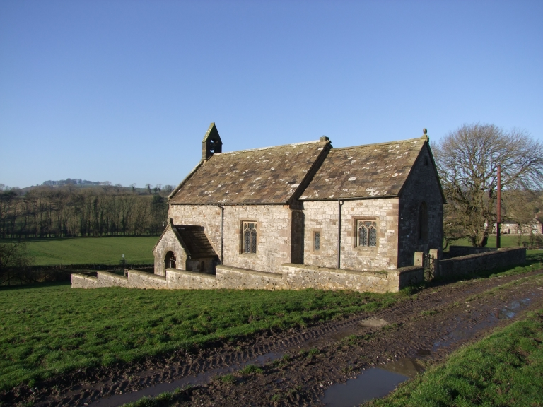 Ballidon Church from the South East