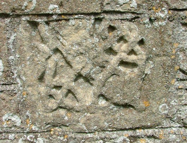 Knotwork fragment