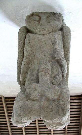 The Margam anus shower and exhibitionist figure