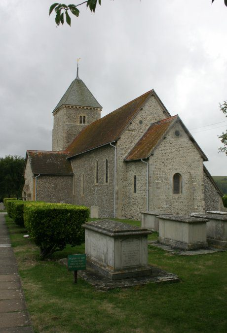 End View of Church