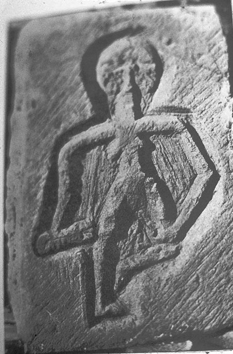 A picture of the Egremont Sheela Na Gig