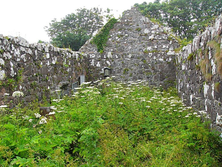 The ruins of  Kildonan church