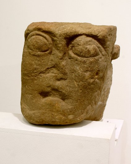 Romanesque Head