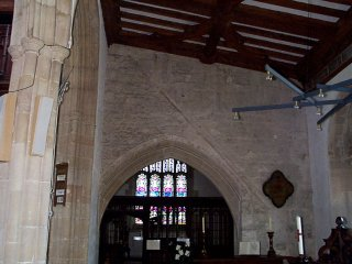 The Roof Line in the Church