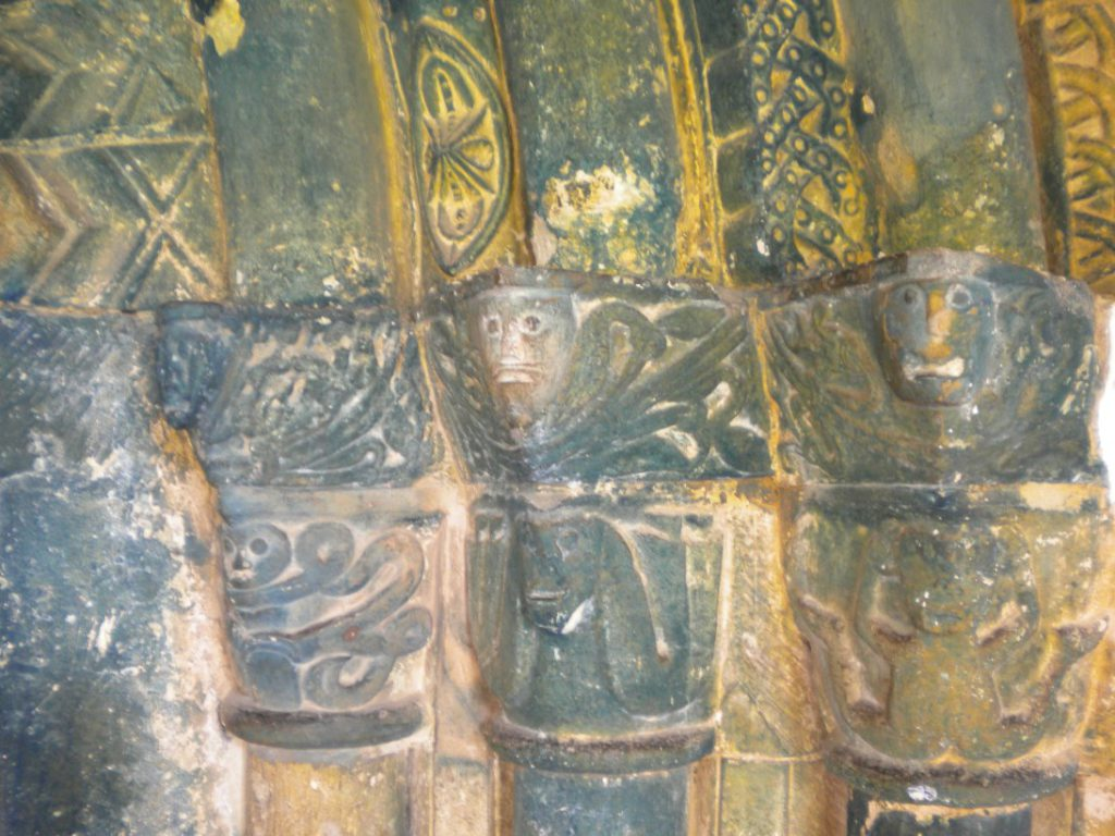 Wroxham Church Doorway Captials